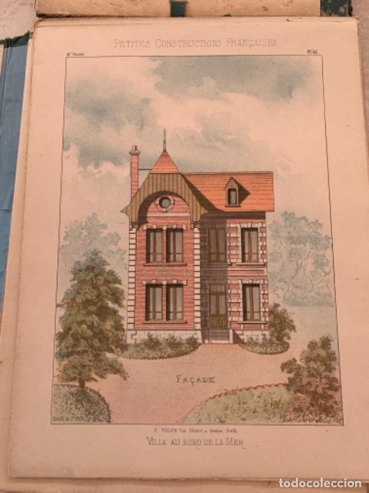 Libros antiguos: PETITES CONSTRUCTIONES FRANÇAISES EMILE THÉZARD 1885 ARQUITECTURA 4 VOLUMENES - Foto 19 - 269454553