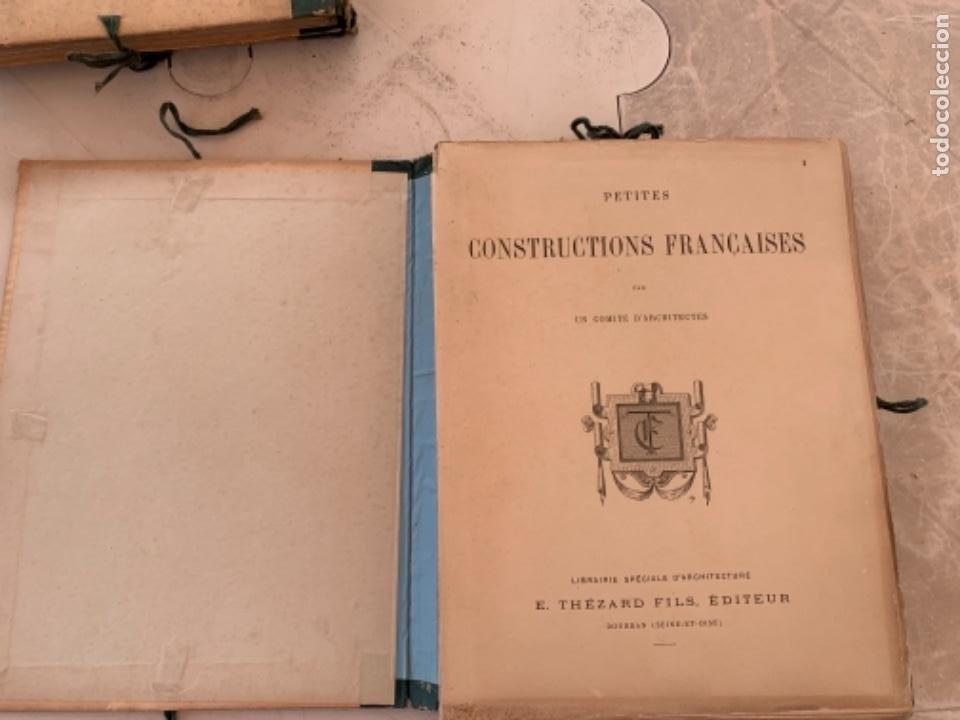 Libros antiguos: PETITES CONSTRUCTIONES FRANÇAISES EMILE THÉZARD 1885 ARQUITECTURA 4 VOLUMENES - Foto 20 - 269454553