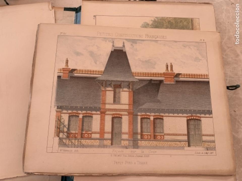 Libros antiguos: PETITES CONSTRUCTIONES FRANÇAISES EMILE THÉZARD 1885 ARQUITECTURA 4 VOLUMENES - Foto 21 - 269454553