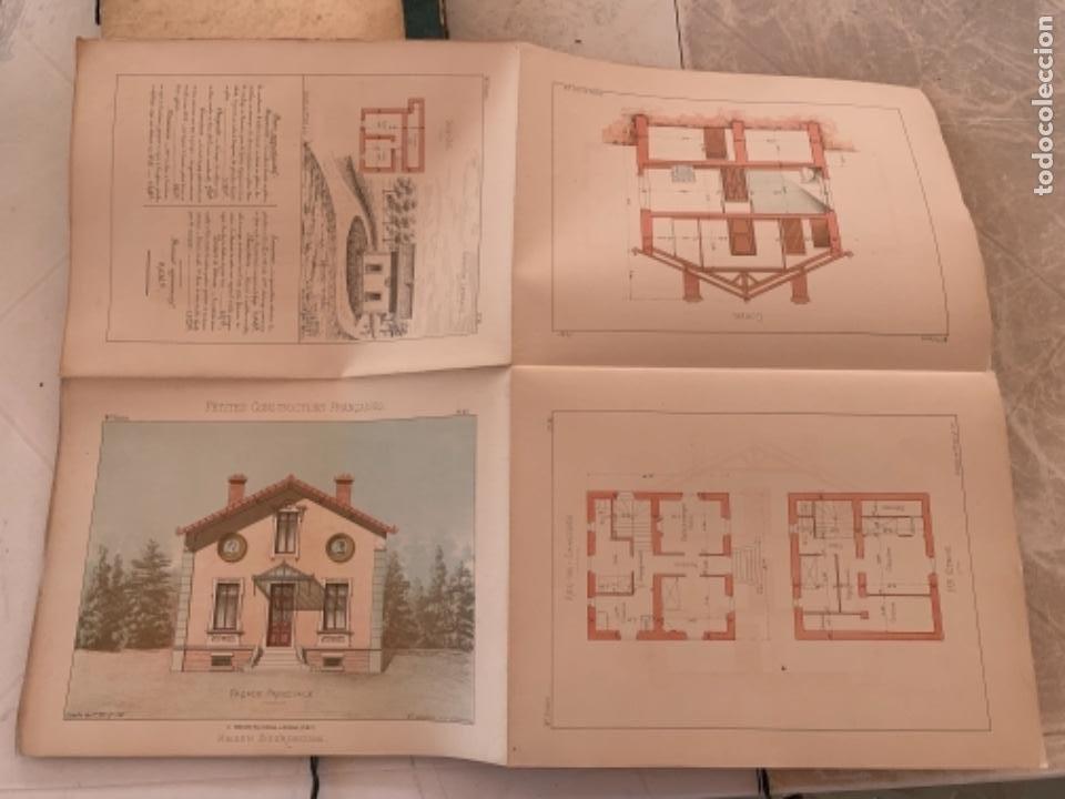 Libros antiguos: PETITES CONSTRUCTIONES FRANÇAISES EMILE THÉZARD 1885 ARQUITECTURA 4 VOLUMENES - Foto 22 - 269454553