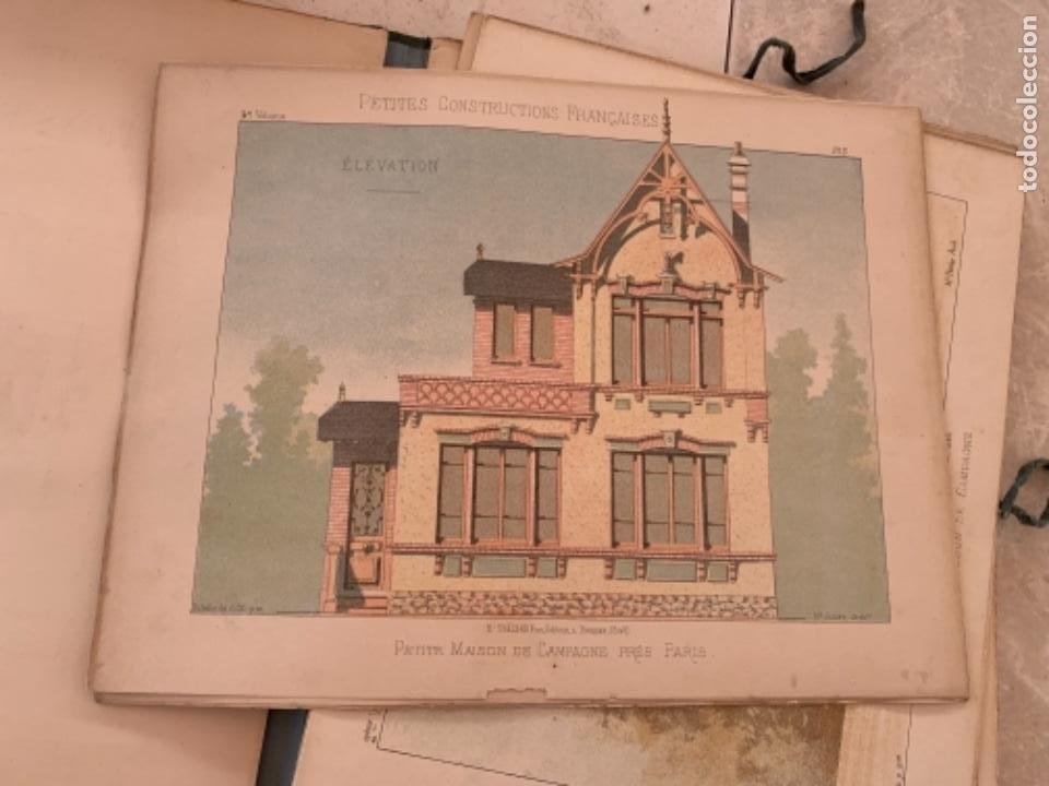Libros antiguos: PETITES CONSTRUCTIONES FRANÇAISES EMILE THÉZARD 1885 ARQUITECTURA 4 VOLUMENES - Foto 23 - 269454553