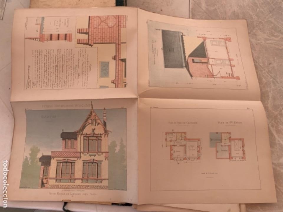 Libros antiguos: PETITES CONSTRUCTIONES FRANÇAISES EMILE THÉZARD 1885 ARQUITECTURA 4 VOLUMENES - Foto 24 - 269454553