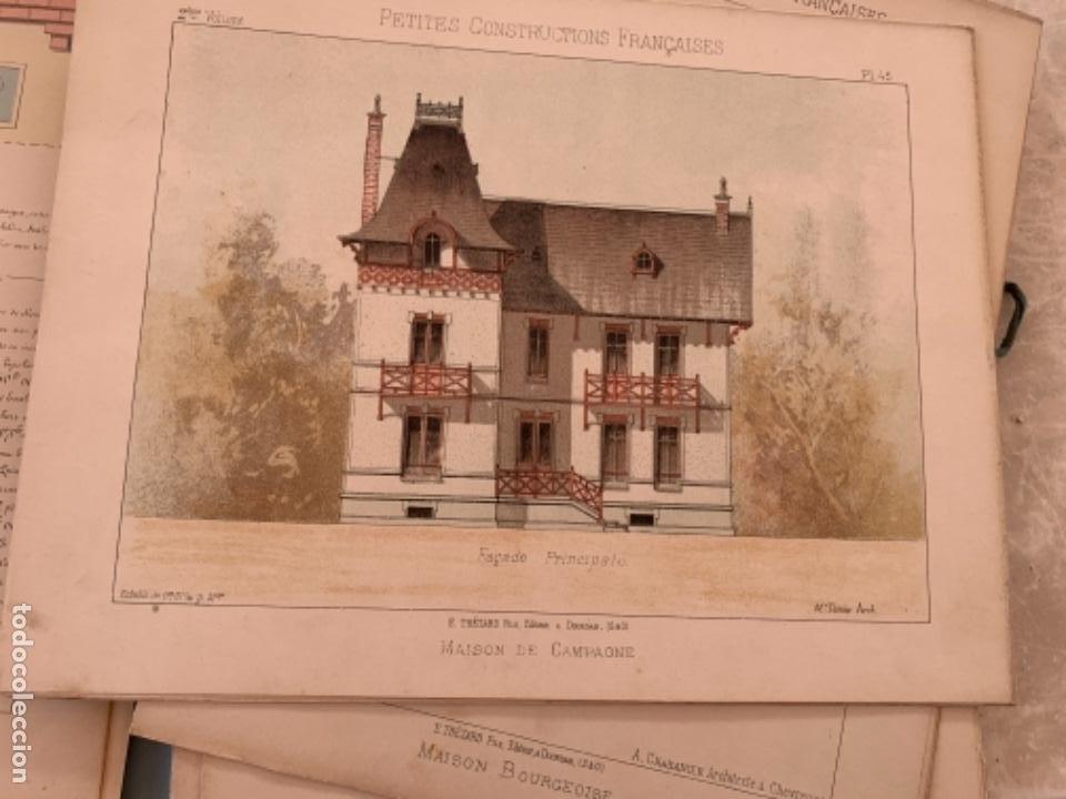 Libros antiguos: PETITES CONSTRUCTIONES FRANÇAISES EMILE THÉZARD 1885 ARQUITECTURA 4 VOLUMENES - Foto 25 - 269454553