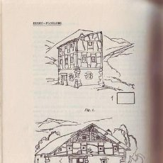 Libros antiguos: ANUARIO DE LA SOCIEDAD DE EUSKO-FOLKLORE. 1925. TOMO V- ESTABLECIMIENTOS HUMANOS Y CASA RURAL (I). Lote 269455113