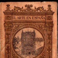 Libros antiguos: EL ARTE EN ESPAÑA : VALLADOLID (THOMAS, C. 1930). Lote 270595373