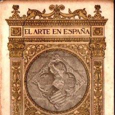 Libros antiguos: EL ARTE EN ESPAÑA : POBLET (THOMAS, C. 1930). Lote 270595628