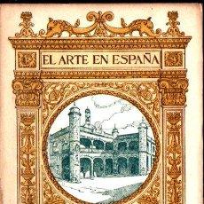 Libros antiguos: EL ARTE EN ESPAÑA : CIUDAD RODRIGO (THOMAS, C. 1930). Lote 270598258