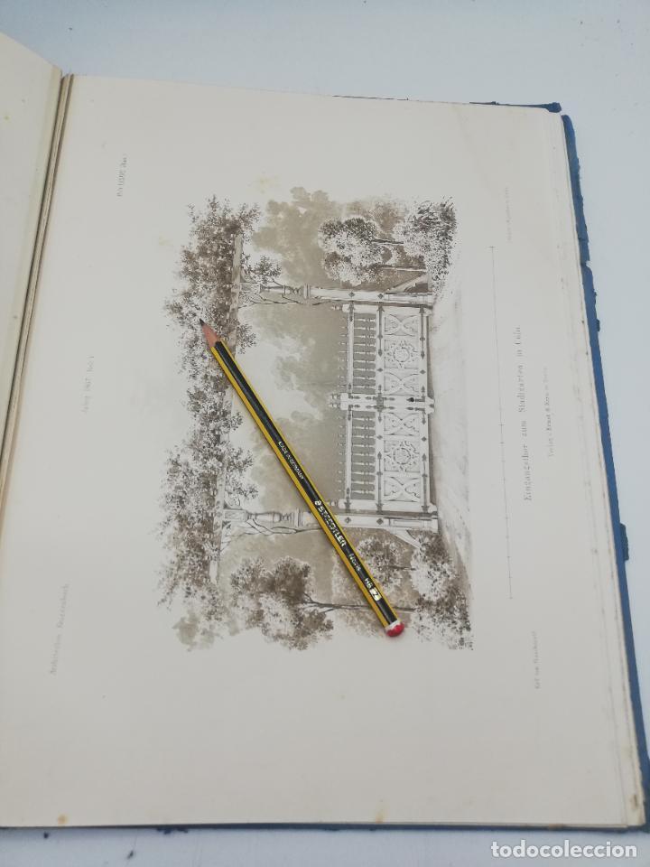 Libros antiguos: L´ARCHITECTURE ALLEMANDE AU XIX SIECLE. RECUELL DE MASIONS DE VILLE ET DE CAMPAGNE. 9 TOMOS.VER.LEER - Foto 309 - 267903714