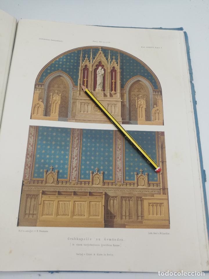 Libros antiguos: L´ARCHITECTURE ALLEMANDE AU XIX SIECLE. RECUELL DE MASIONS DE VILLE ET DE CAMPAGNE. 9 TOMOS.VER.LEER - Foto 312 - 267903714