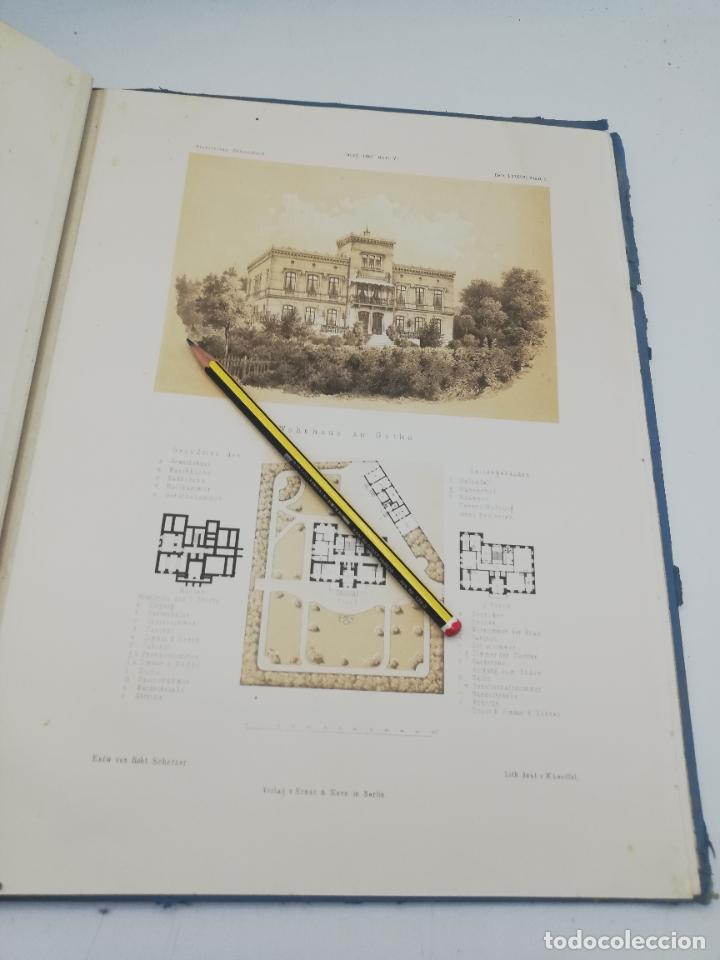 Libros antiguos: L´ARCHITECTURE ALLEMANDE AU XIX SIECLE. RECUELL DE MASIONS DE VILLE ET DE CAMPAGNE. 9 TOMOS.VER.LEER - Foto 316 - 267903714