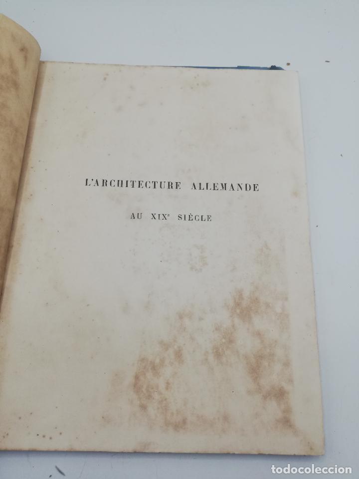 Libros antiguos: L´ARCHITECTURE ALLEMANDE AU XIX SIECLE. RECUELL DE MASIONS DE VILLE ET DE CAMPAGNE. 9 TOMOS.VER.LEER - Foto 320 - 267903714