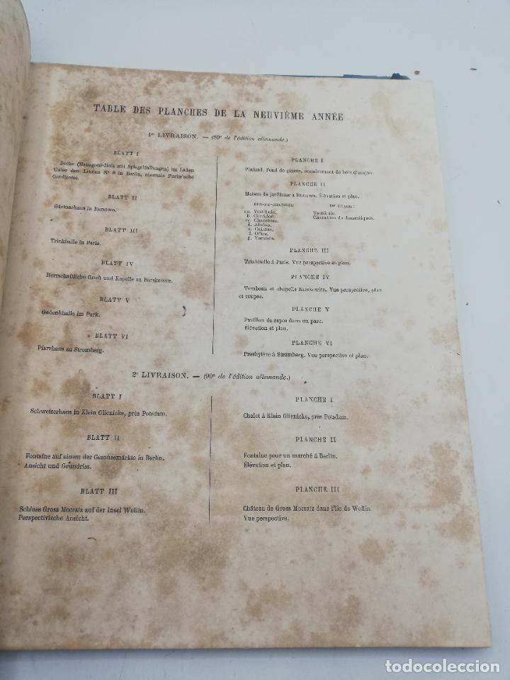 Libros antiguos: L´ARCHITECTURE ALLEMANDE AU XIX SIECLE. RECUELL DE MASIONS DE VILLE ET DE CAMPAGNE. 9 TOMOS.VER.LEER - Foto 322 - 267903714