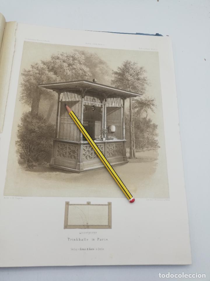 Libros antiguos: L´ARCHITECTURE ALLEMANDE AU XIX SIECLE. RECUELL DE MASIONS DE VILLE ET DE CAMPAGNE. 9 TOMOS.VER.LEER - Foto 324 - 267903714