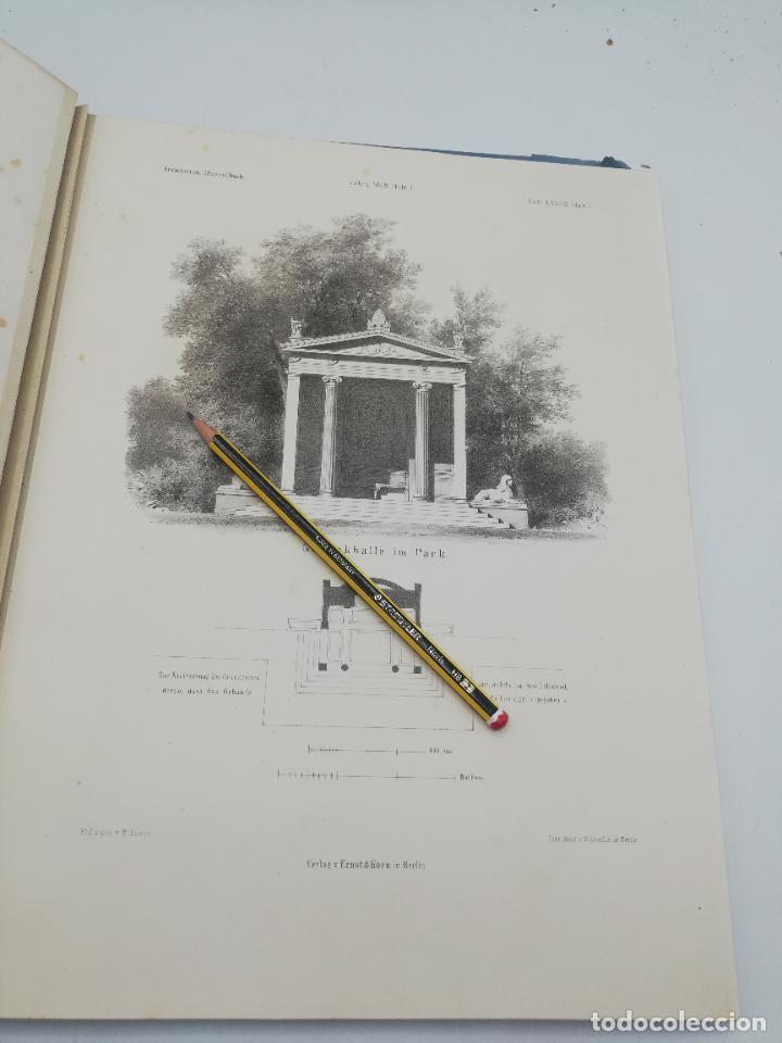 Libros antiguos: L´ARCHITECTURE ALLEMANDE AU XIX SIECLE. RECUELL DE MASIONS DE VILLE ET DE CAMPAGNE. 9 TOMOS.VER.LEER - Foto 326 - 267903714