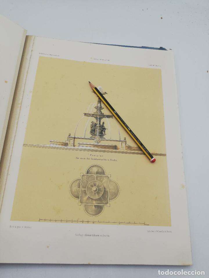 Libros antiguos: L´ARCHITECTURE ALLEMANDE AU XIX SIECLE. RECUELL DE MASIONS DE VILLE ET DE CAMPAGNE. 9 TOMOS.VER.LEER - Foto 328 - 267903714