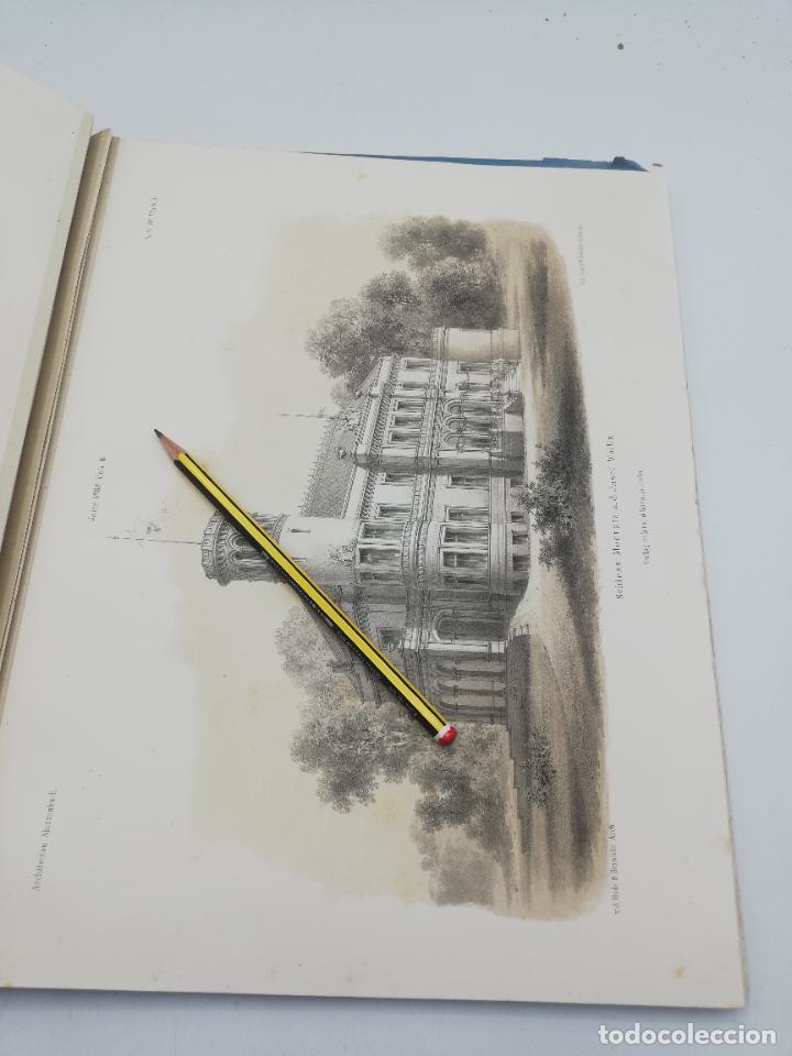 Libros antiguos: L´ARCHITECTURE ALLEMANDE AU XIX SIECLE. RECUELL DE MASIONS DE VILLE ET DE CAMPAGNE. 9 TOMOS.VER.LEER - Foto 329 - 267903714
