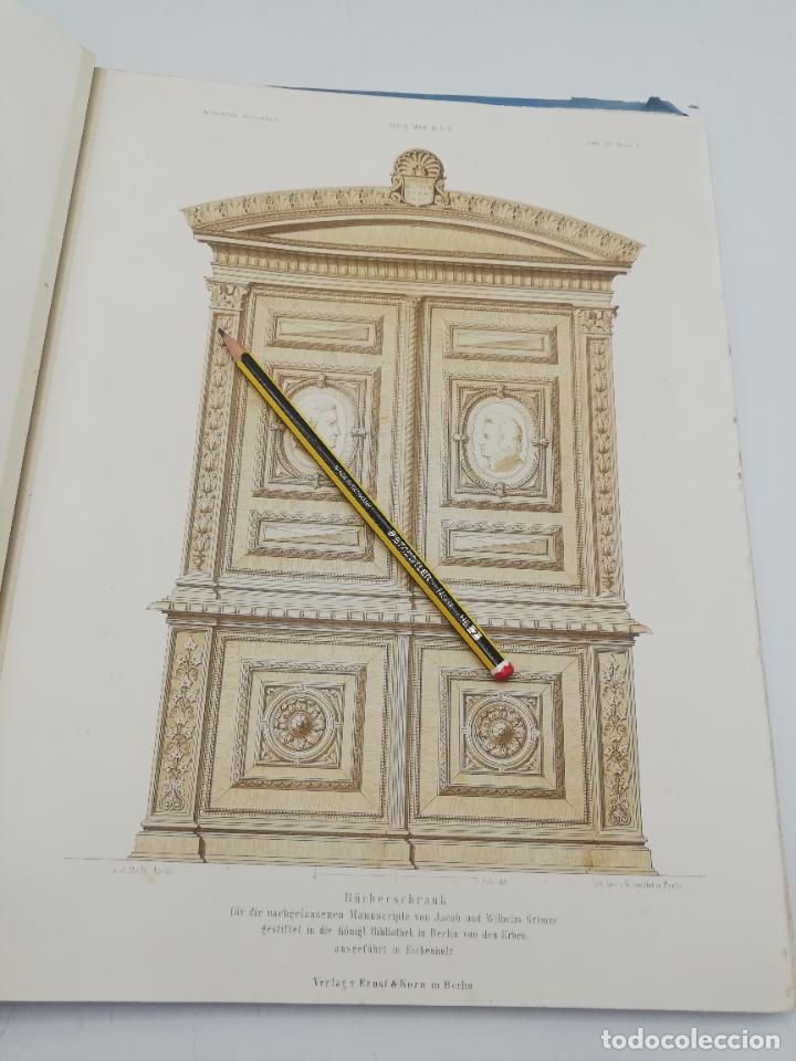 Libros antiguos: L´ARCHITECTURE ALLEMANDE AU XIX SIECLE. RECUELL DE MASIONS DE VILLE ET DE CAMPAGNE. 9 TOMOS.VER.LEER - Foto 331 - 267903714