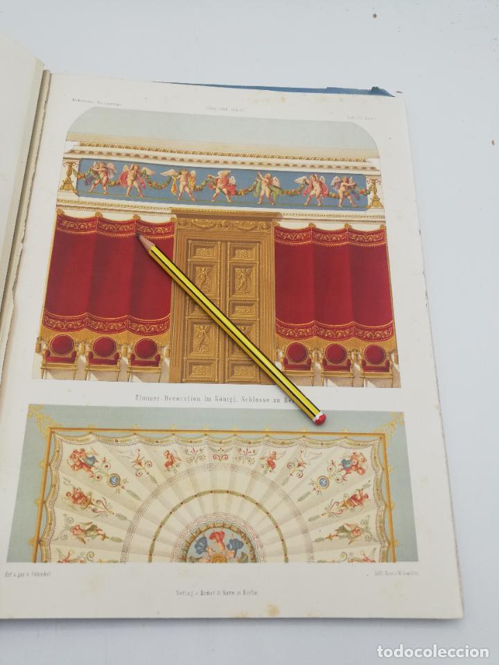 Libros antiguos: L´ARCHITECTURE ALLEMANDE AU XIX SIECLE. RECUELL DE MASIONS DE VILLE ET DE CAMPAGNE. 9 TOMOS.VER.LEER - Foto 332 - 267903714
