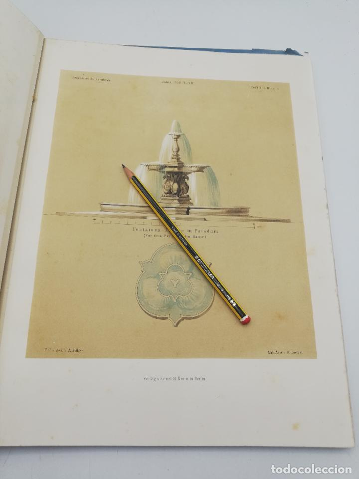 Libros antiguos: L´ARCHITECTURE ALLEMANDE AU XIX SIECLE. RECUELL DE MASIONS DE VILLE ET DE CAMPAGNE. 9 TOMOS.VER.LEER - Foto 333 - 267903714