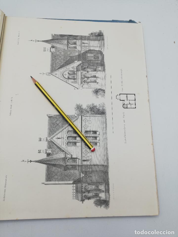 Libros antiguos: L´ARCHITECTURE ALLEMANDE AU XIX SIECLE. RECUELL DE MASIONS DE VILLE ET DE CAMPAGNE. 9 TOMOS.VER.LEER - Foto 335 - 267903714