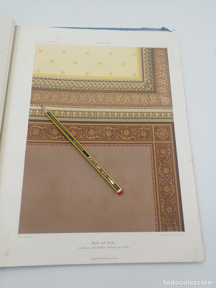 Libros antiguos: L´ARCHITECTURE ALLEMANDE AU XIX SIECLE. RECUELL DE MASIONS DE VILLE ET DE CAMPAGNE. 9 TOMOS.VER.LEER - Foto 337 - 267903714