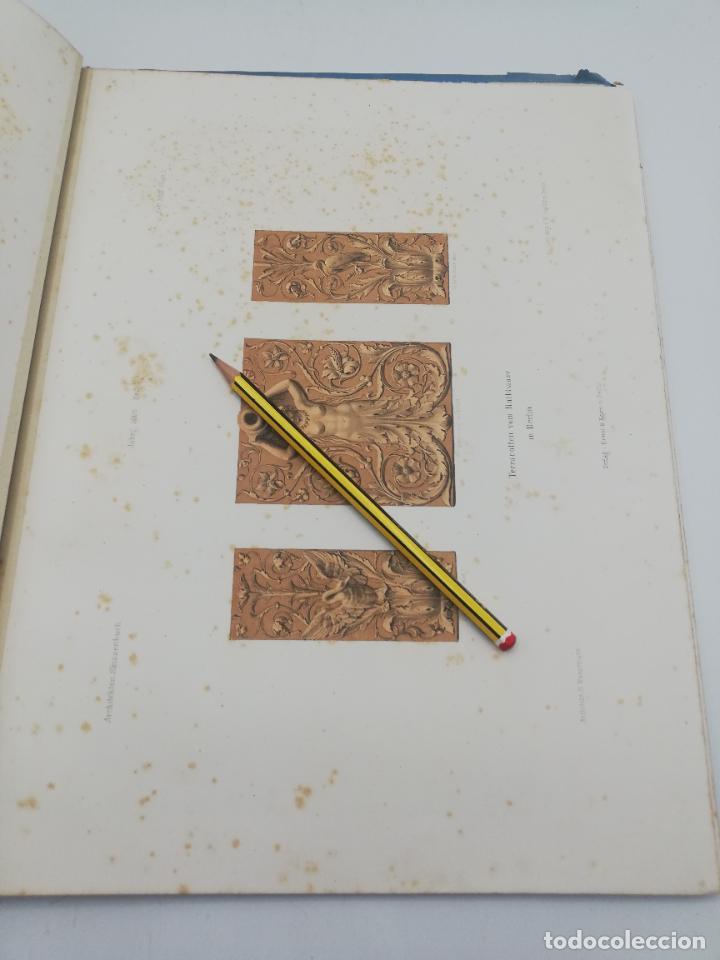 Libros antiguos: L´ARCHITECTURE ALLEMANDE AU XIX SIECLE. RECUELL DE MASIONS DE VILLE ET DE CAMPAGNE. 9 TOMOS.VER.LEER - Foto 343 - 267903714