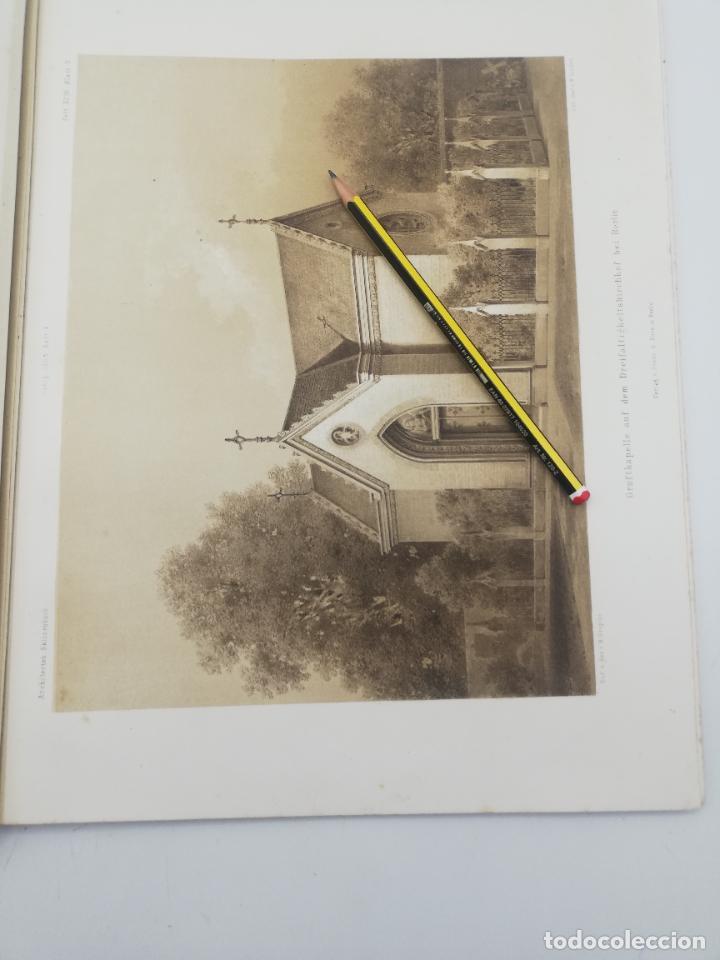 Libros antiguos: L´ARCHITECTURE ALLEMANDE AU XIX SIECLE. RECUELL DE MASIONS DE VILLE ET DE CAMPAGNE. 9 TOMOS.VER.LEER - Foto 345 - 267903714