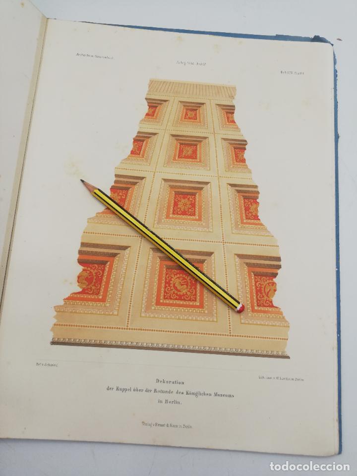 Libros antiguos: L´ARCHITECTURE ALLEMANDE AU XIX SIECLE. RECUELL DE MASIONS DE VILLE ET DE CAMPAGNE. 9 TOMOS.VER.LEER - Foto 347 - 267903714