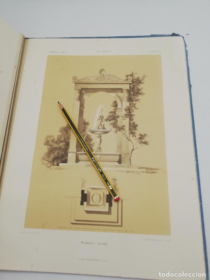 Libros antiguos: L´ARCHITECTURE ALLEMANDE AU XIX SIECLE. RECUELL DE MASIONS DE VILLE ET DE CAMPAGNE. 9 TOMOS.VER.LEER - Foto 349 - 267903714