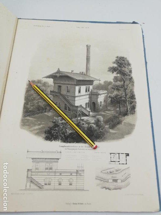 Libros antiguos: L´ARCHITECTURE ALLEMANDE AU XIX SIECLE. RECUELL DE MASIONS DE VILLE ET DE CAMPAGNE. 9 TOMOS.VER.LEER - Foto 351 - 267903714