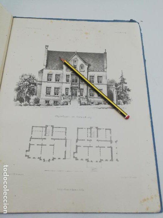 Libros antiguos: L´ARCHITECTURE ALLEMANDE AU XIX SIECLE. RECUELL DE MASIONS DE VILLE ET DE CAMPAGNE. 9 TOMOS.VER.LEER - Foto 352 - 267903714