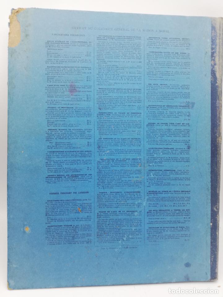 Libros antiguos: L´ARCHITECTURE ALLEMANDE AU XIX SIECLE. RECUELL DE MASIONS DE VILLE ET DE CAMPAGNE. 9 TOMOS.VER.LEER - Foto 353 - 267903714