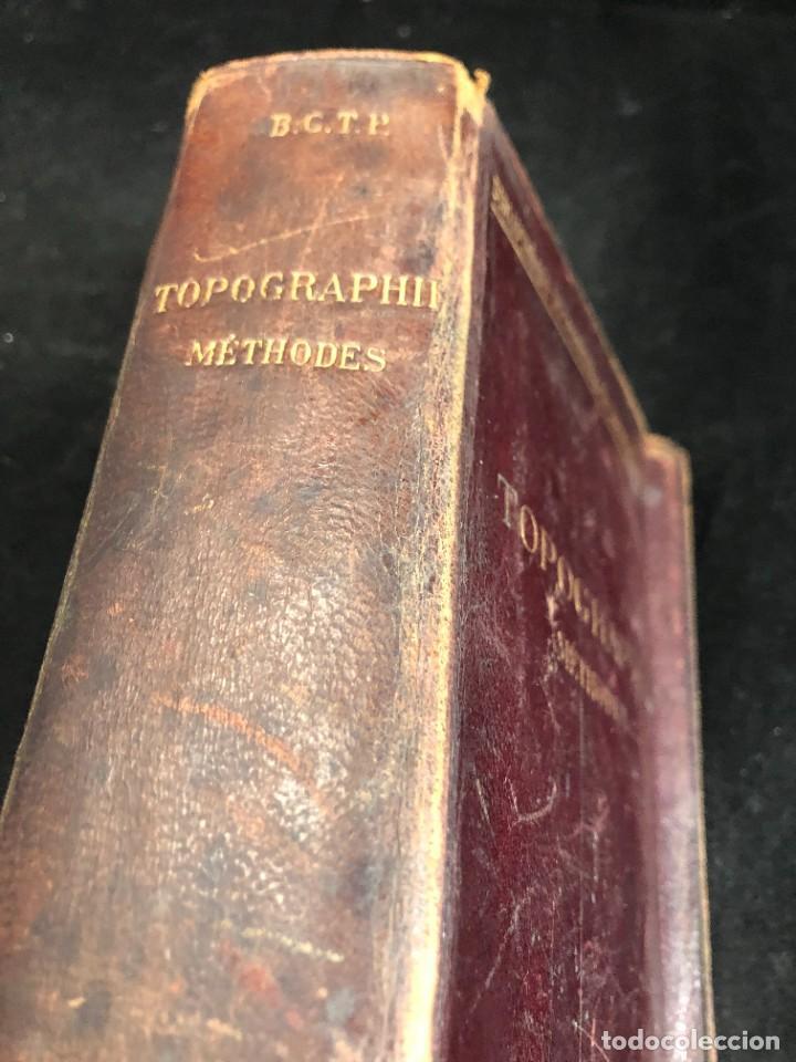 Libros antiguos: Topographie EUGÈNE PREVOT. 1900 Bibliothèque du Conducteur de Travaux Publics. en francés - Foto 2 - 271002548