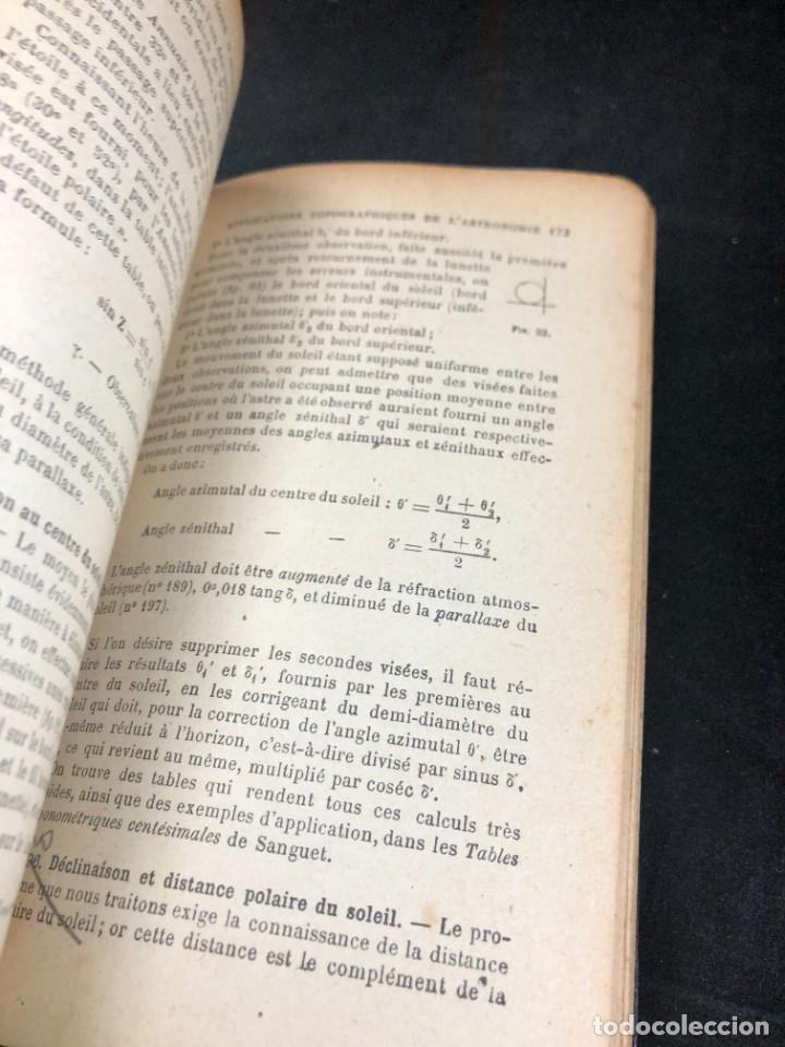 Libros antiguos: Topographie EUGÈNE PREVOT. 1900 Bibliothèque du Conducteur de Travaux Publics. en francés - Foto 7 - 271002548