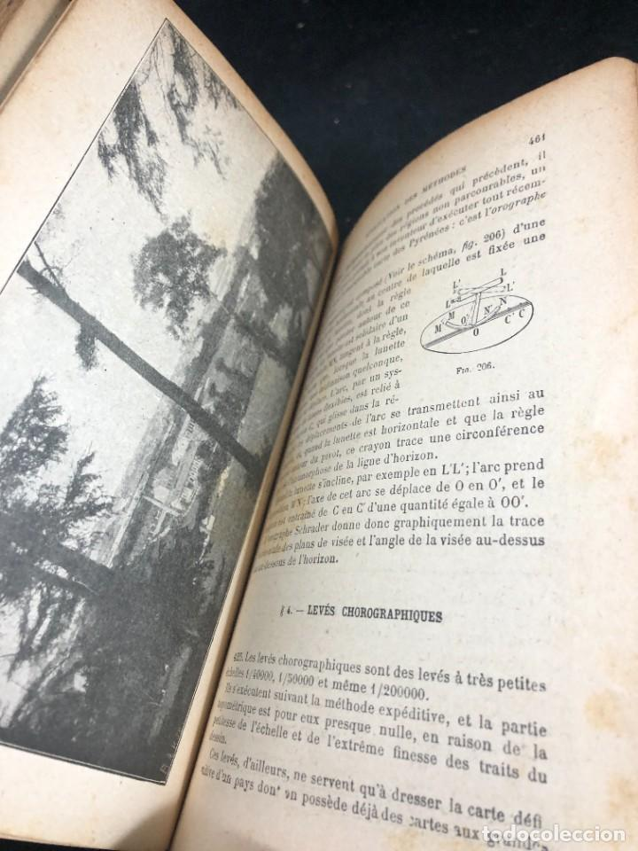 Libros antiguos: Topographie EUGÈNE PREVOT. 1900 Bibliothèque du Conducteur de Travaux Publics. en francés - Foto 14 - 271002548