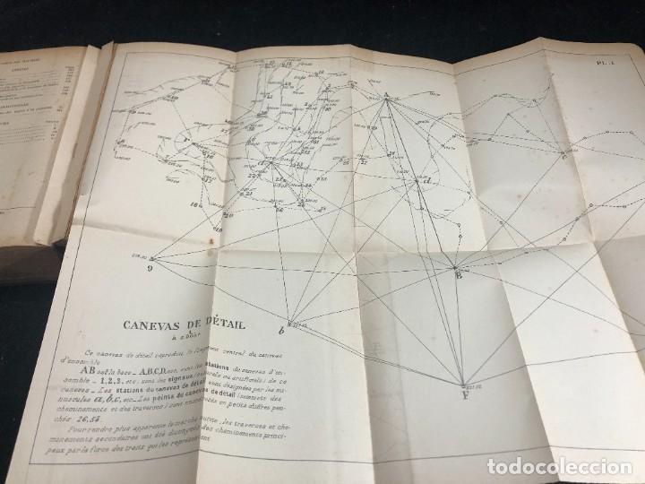 Libros antiguos: Topographie EUGÈNE PREVOT. 1900 Bibliothèque du Conducteur de Travaux Publics. en francés - Foto 15 - 271002548