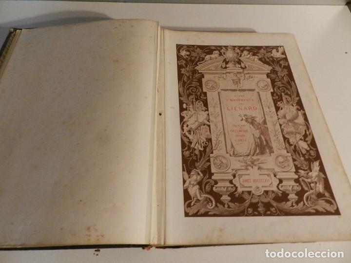 Libros antiguos: LIENARD .SPÉCIMENS DE LA DÉCORATION ET DE LORNEMENTATION AU 19ÈME SIÈCLE 1866 PRIMERA ED LÁMINAS - Foto 7 - 275038038