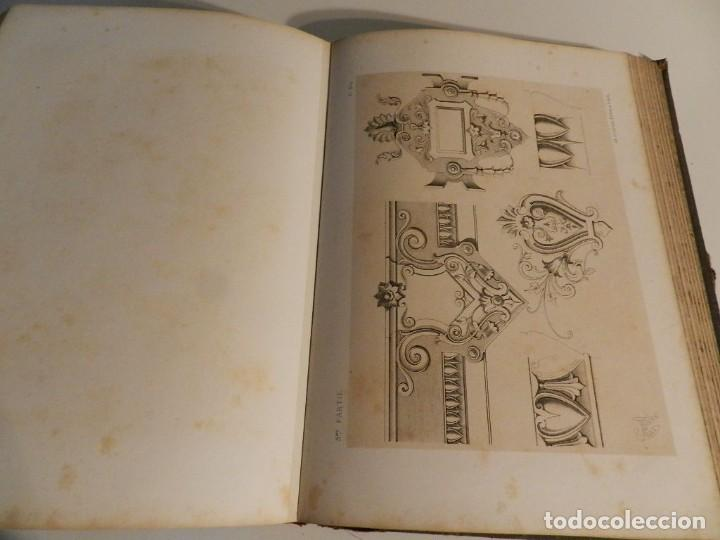 Libros antiguos: LIENARD .SPÉCIMENS DE LA DÉCORATION ET DE LORNEMENTATION AU 19ÈME SIÈCLE 1866 PRIMERA ED LÁMINAS - Foto 17 - 275038038