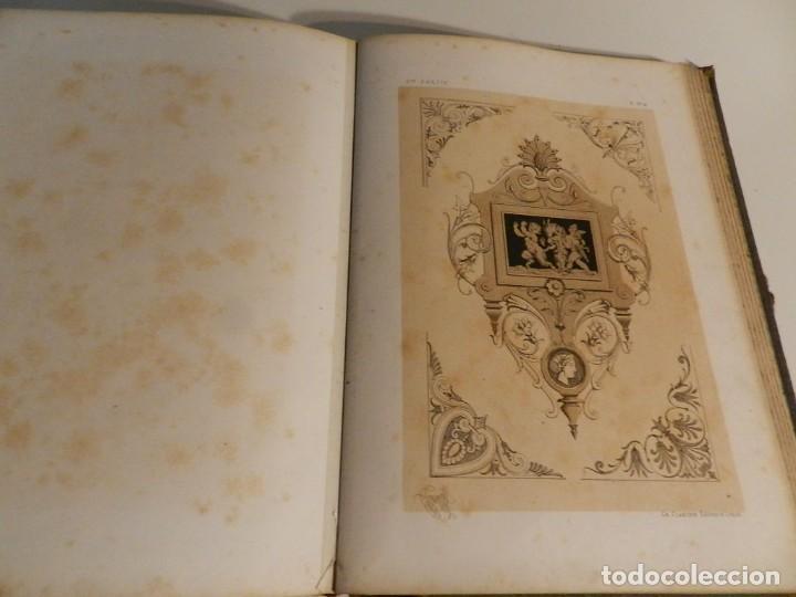 Libros antiguos: LIENARD .SPÉCIMENS DE LA DÉCORATION ET DE LORNEMENTATION AU 19ÈME SIÈCLE 1866 PRIMERA ED LÁMINAS - Foto 18 - 275038038