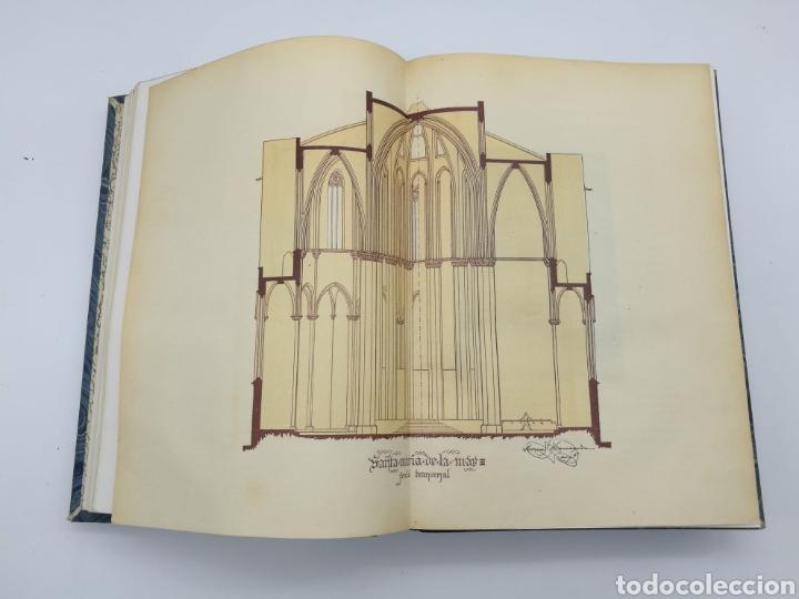 Libros antiguos: Santa Maria del Mar Barcelona monografia històrica 1925 - Foto 3 - 275079073