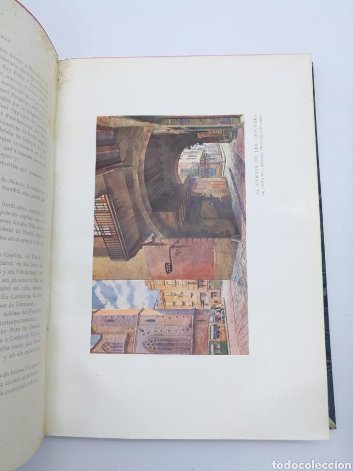 Libros antiguos: Santa Maria del Mar Barcelona monografia històrica 1925 - Foto 6 - 275079073