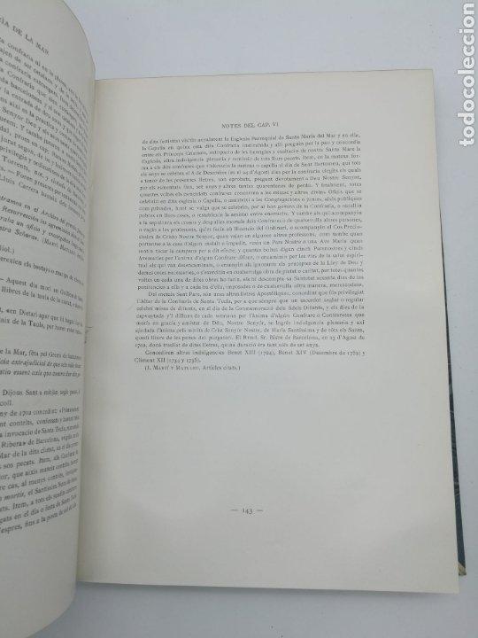 Libros antiguos: Santa Maria del Mar Barcelona monografia històrica 1925 - Foto 7 - 275079073