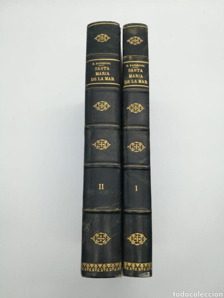 SANTA MARIA DEL MAR BARCELONA MONOGRAFIA HISTÒRICA 1925 (Libros Antiguos, Raros y Curiosos - Bellas artes, ocio y coleccion - Arquitectura)
