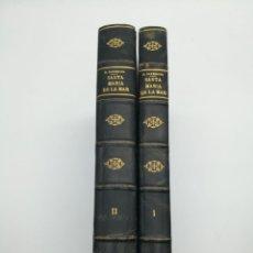 Libros antiguos: SANTA MARIA DEL MAR BARCELONA MONOGRAFIA HISTÒRICA 1925. Lote 275079073