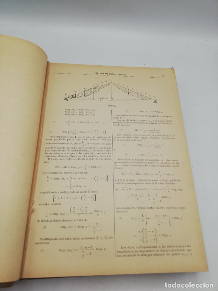 Libros antiguos: REVISTA DE OBRAS PUBLICAS. AÑO XLIV SERIE 7ª PRIMER Y SEGUNDO SEMESTRE. 1897. TOMO I Y II. VER FOTOS - Foto 11 - 275203048