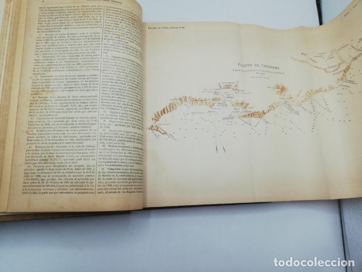 Libros antiguos: REVISTA DE OBRAS PUBLICAS. AÑO XLIV SERIE 7ª PRIMER Y SEGUNDO SEMESTRE. 1897. TOMO I Y II. VER FOTOS - Foto 16 - 275203048