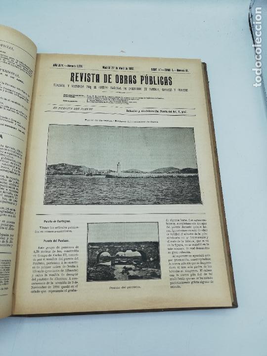 Libros antiguos: REVISTA DE OBRAS PUBLICAS. AÑO XLIV SERIE 7ª PRIMER Y SEGUNDO SEMESTRE. 1897. TOMO I Y II. VER FOTOS - Foto 28 - 275203048