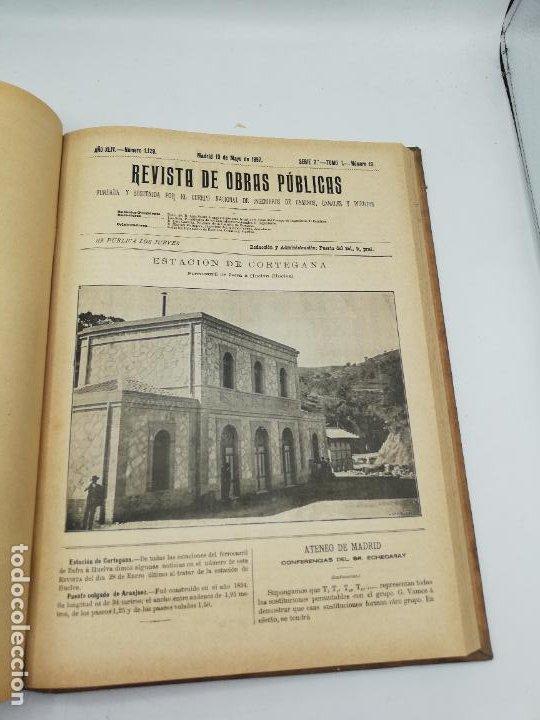 Libros antiguos: REVISTA DE OBRAS PUBLICAS. AÑO XLIV SERIE 7ª PRIMER Y SEGUNDO SEMESTRE. 1897. TOMO I Y II. VER FOTOS - Foto 31 - 275203048