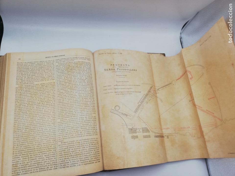 Libros antiguos: REVISTA DE OBRAS PUBLICAS. AÑO XLIV SERIE 7ª PRIMER Y SEGUNDO SEMESTRE. 1897. TOMO I Y II. VER FOTOS - Foto 37 - 275203048
