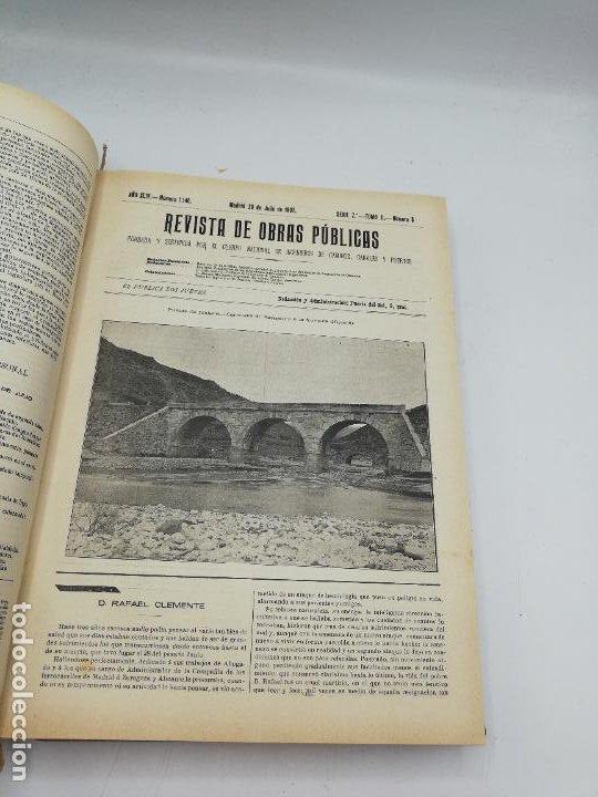 Libros antiguos: REVISTA DE OBRAS PUBLICAS. AÑO XLIV SERIE 7ª PRIMER Y SEGUNDO SEMESTRE. 1897. TOMO I Y II. VER FOTOS - Foto 45 - 275203048